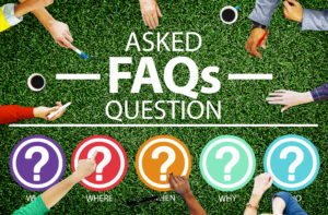 Frequently Asked Questions, FAQ's