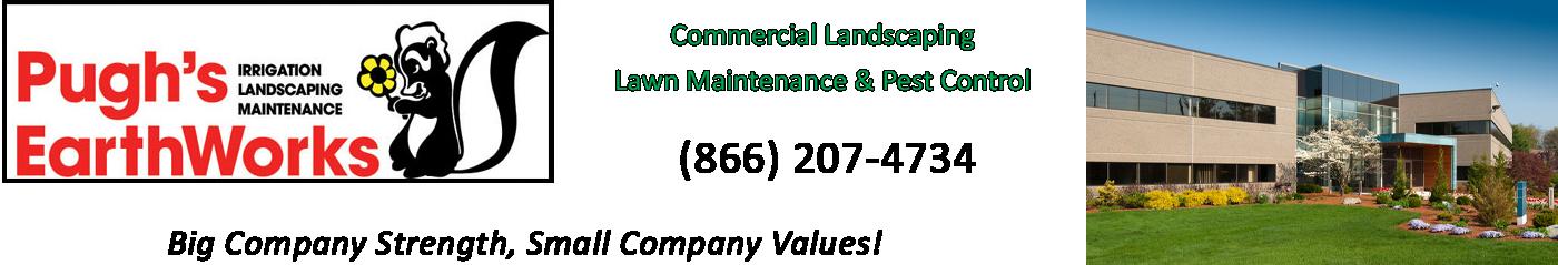 Pugh's Earthworks Logo
