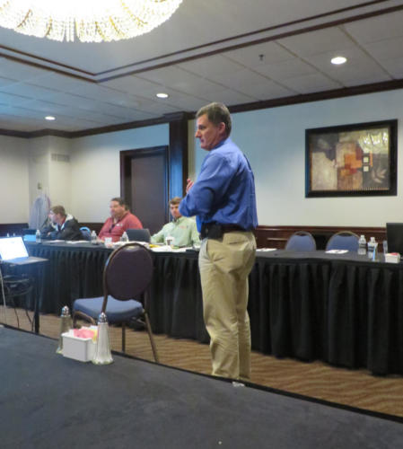 mark at spring conference