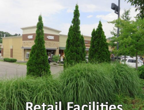 Commercial Landscape Services For Retail Shopping Centers