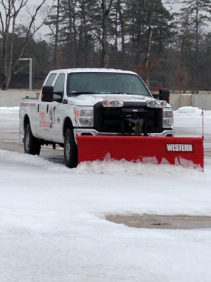 Top Priority Winter Commercial Landscape Maintenance